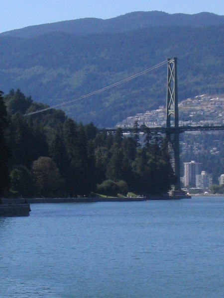 Along the Sea Wall in Vancouver