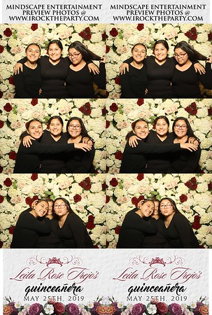 Leila Rose Quinceanera - Photo Booth Pictures