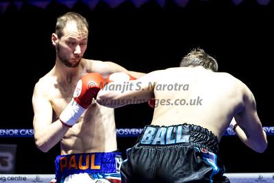 Bout 3. Danny Ball vs Paul Cummings