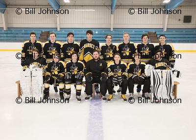 Nauset Boys JV Hockey Team and Roster 2017-18