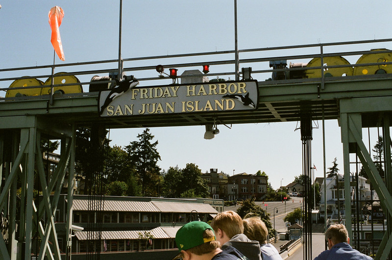 Friday Harbor Ferry Dock