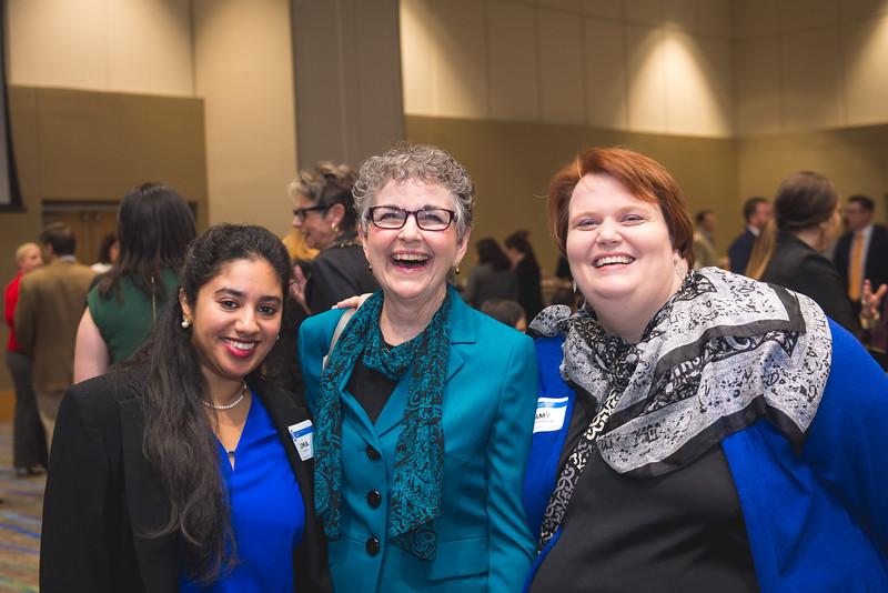 Uma Venkat(left) Nancy Wesson-Dodd and Amy Sanford.