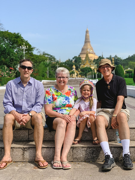Yangon with the Plevas - January 2019