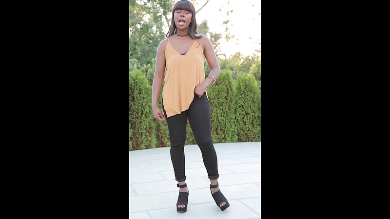 alyssa black pants 3