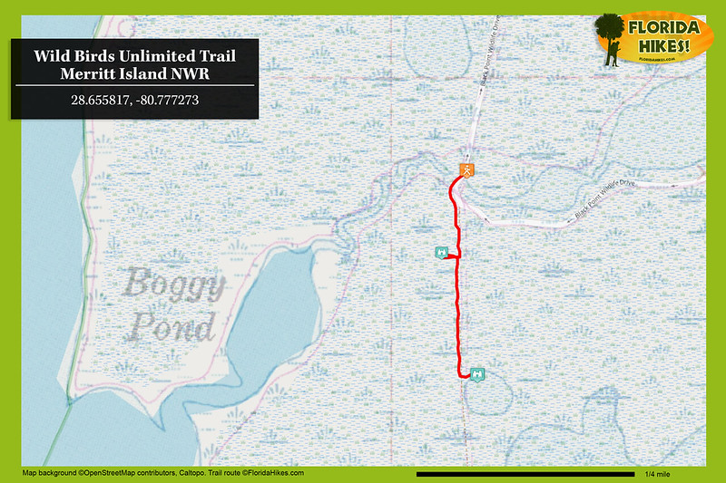 Wild Birds Unlimited Trail Map