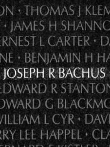 Joseph Bachus...07Nov66...MCB-40
