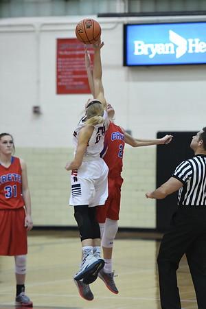 Varsity Girls Basketball vs Crete-Districts