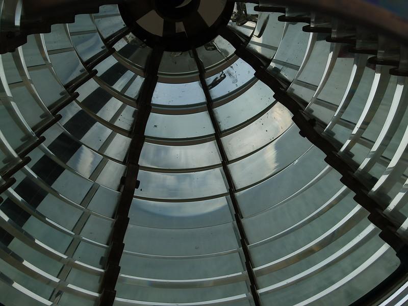 Lens at Au Sable Light