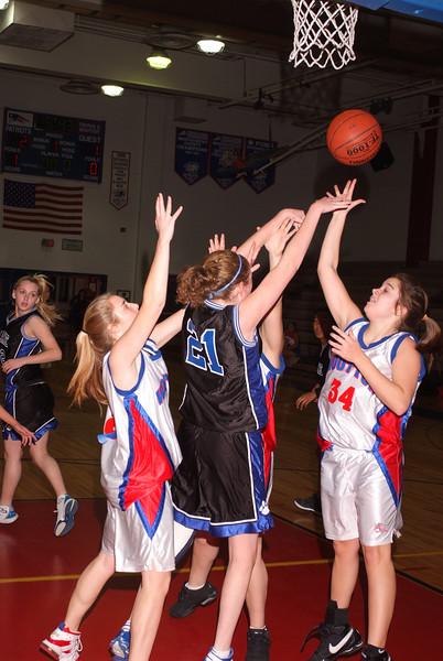 Wooton Girls JV Basketball 2008/9