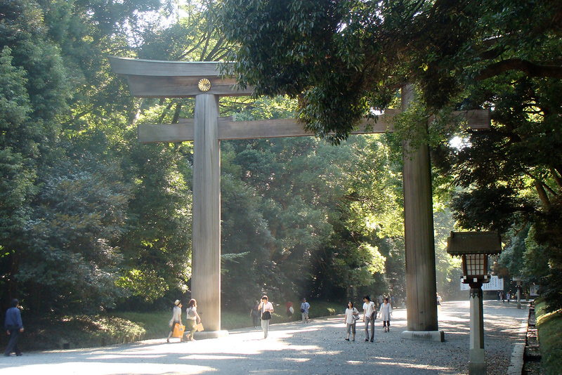Outer gardens near Meiji Jingu shrine, Tokyo