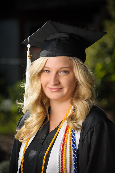 Katy - College Graduate (Graduation Portrait Photography, Santa Cruz, California)