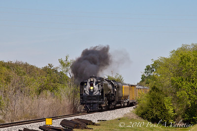 UP 844 Valley Eagle Heritage Special April 09/10&20/21-2010