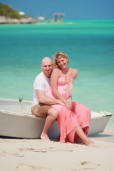 Ville & Heidi | Engagement Session | Jolly Hall Beach | Exuma, Bahamas.