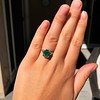 3.08ct Vintage Emerald Solitaire, by Tiffany & Co 7