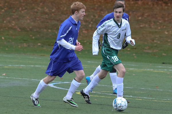 Boys' JV1 Soccer vs. Winchendon | October 29