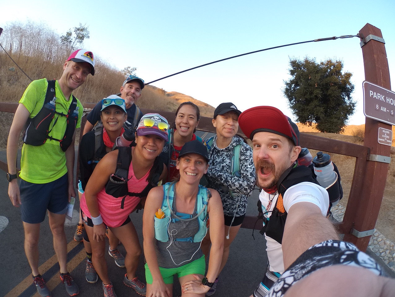 Chino hills 50k preview with thy crew! 09-30-2017