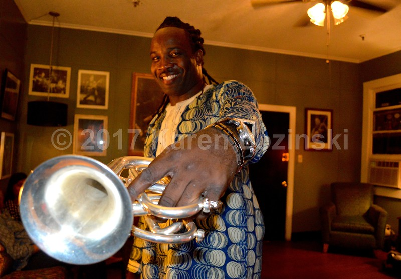Shamarr and His Pocket Trumpet