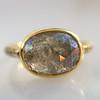 1.56ct Rustic Rose Cut Diamond Bezel Ring, by Single Stone 13