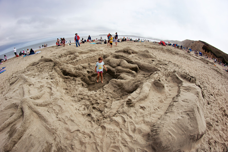 Point Reyes Annual Sand Sculpture Contest