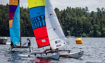 Schroon Lake Hobie Cat Regatta 2017