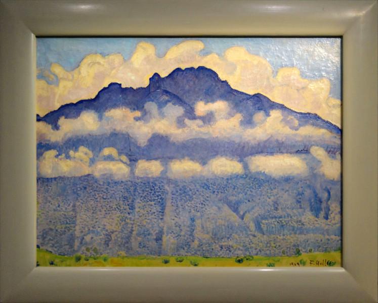 Ferdinand Hodler, La pointe d'Andey, vallée de l'Arve , 1909