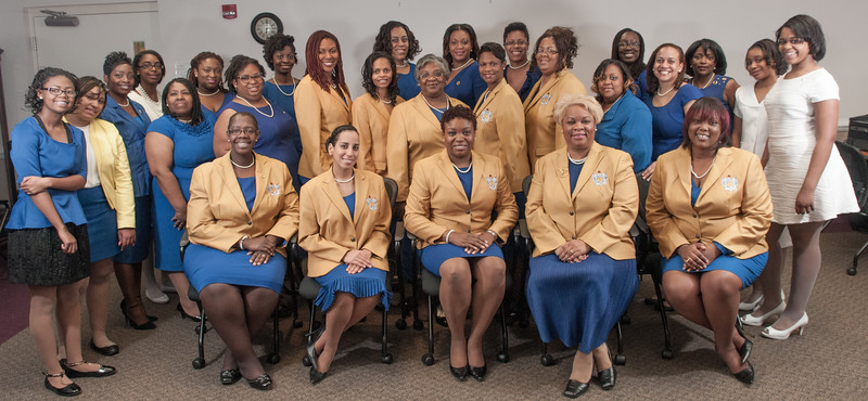 Sigma Gamma Rho Chapter Pictures 11-22-2014