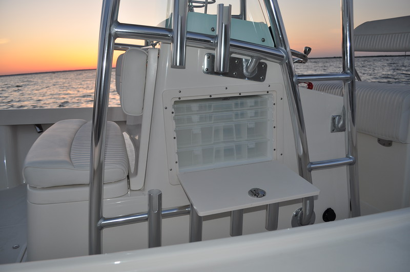 S248585-Tackle Center (4) Drawers on Port Side of Console