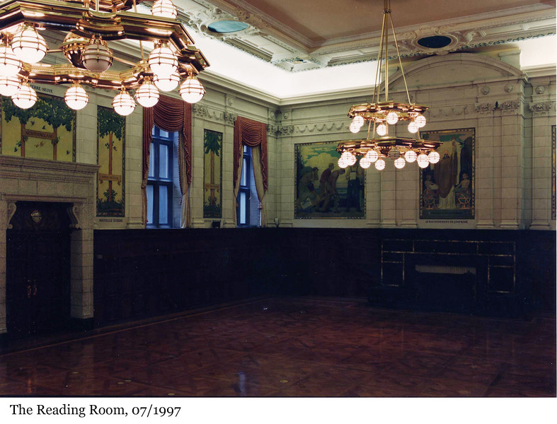 The Reading Room - La salle de lecture, 07/1997