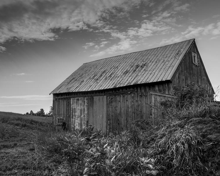 Windswept Acres Barn b&W