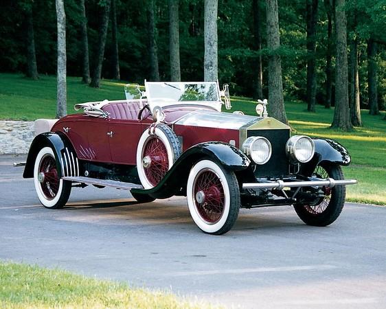 3AU - 1924 Rolls-Royce Silver Ghost