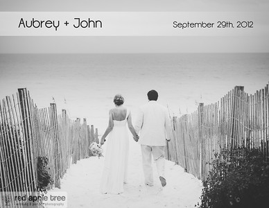 Aubrey + John Wedding Album