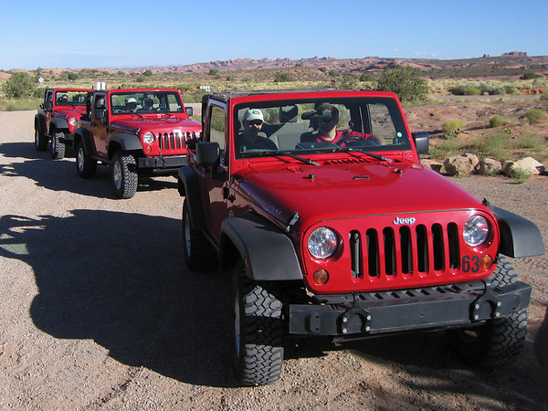 Moab Jeeping