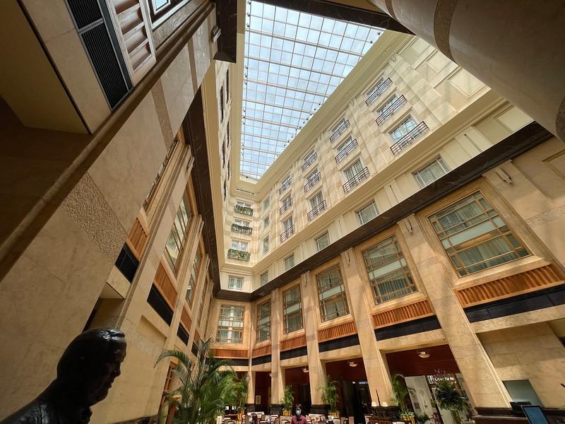 The Fullerton Hotel Lobby