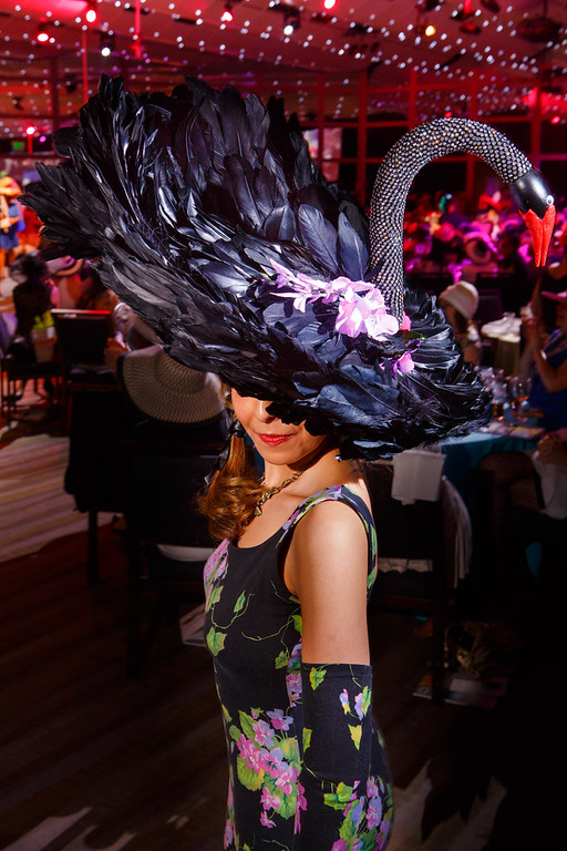 . Diana Vanderbilt.  Women with Hattitude luncheon, benefiting the Women\'s Voices Fund, created by the Denver Center Theatre Company, at the Denver Center for Performing Arts, Seawell Ballroom, in Denver, Colorado, on Thursday, May 5, 2016. Photo Steve Peterson