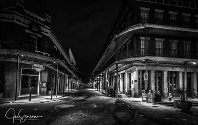 French Quarter in B&W 12-31-2016