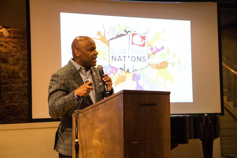 Delegate Reception @ Slow Food Nations