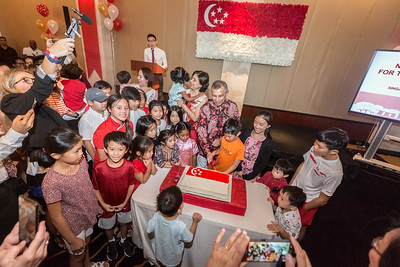 2019-08-09 National Day Children @ Singapore Embassy