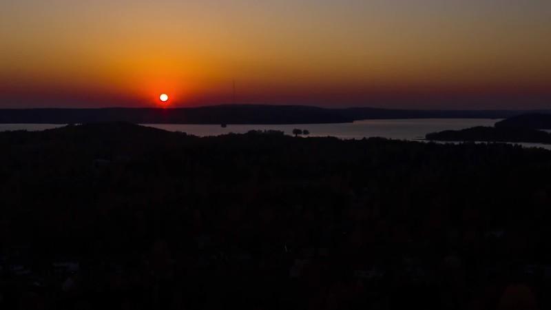 Auringon lasku