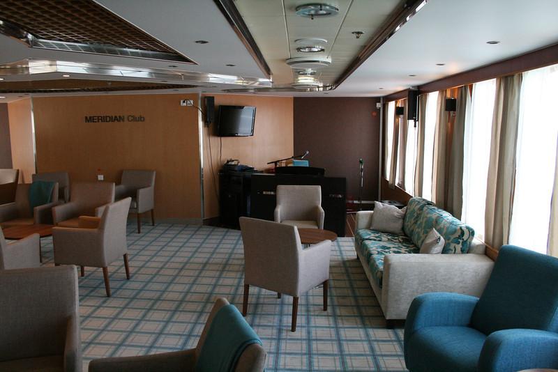 2010 - On board M/S KRISTINA KATARINA : Meridian Club, deck 9.
