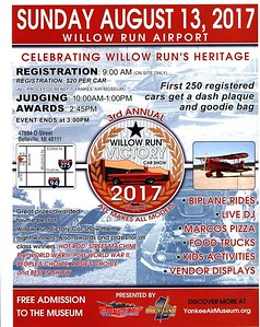 August 13, 2017  Willow Run Victory Car Show
