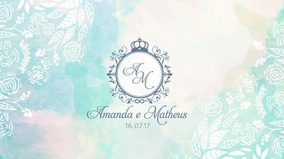 Amanda&Matheus 16.07.17