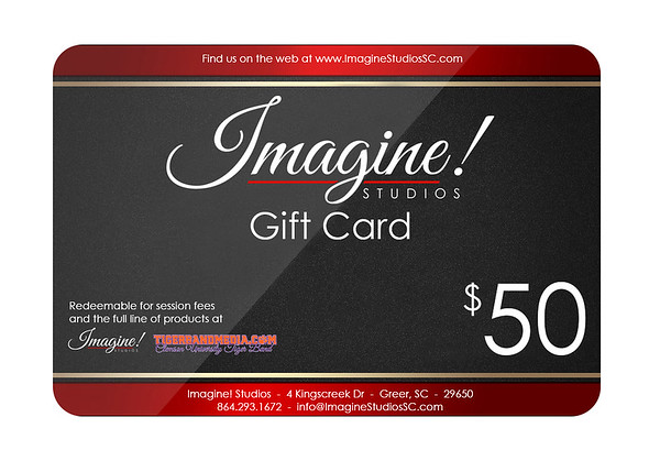 Imagine! Studios Gift Cards and Merchandise