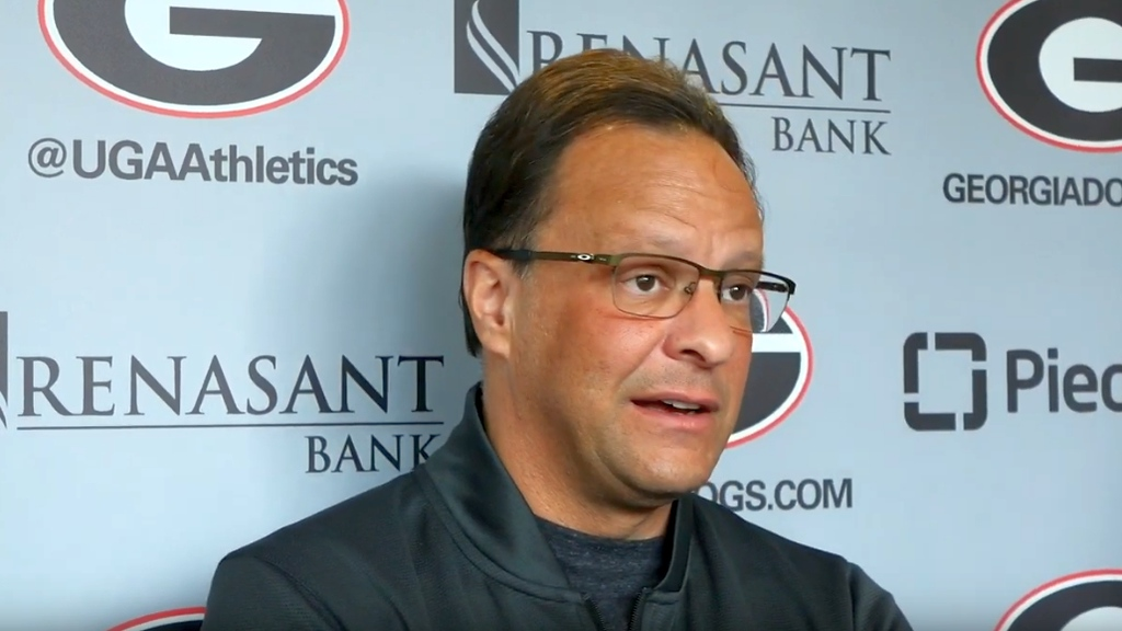 Tom Crean during a UGA men's basketball interview on Friday, January 3rd, 2020.