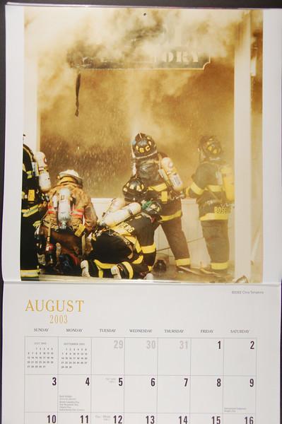 Firefighting Calendar - 2003