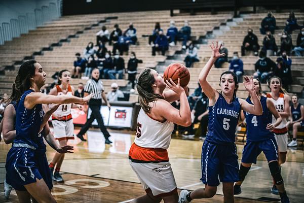 Girls Basketball vs. Cambridge