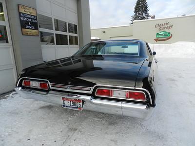 1967 Chevrolet Impala 4 Door Hardtop - Supernatural Clone Project