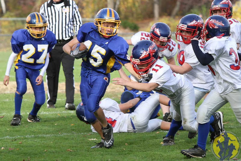 Congratulations to the Brookfield Pee Wee football team on their dominating win over Nonnewaug! Great way to end the season, boys!