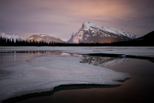 Nighttime in Banff National Park