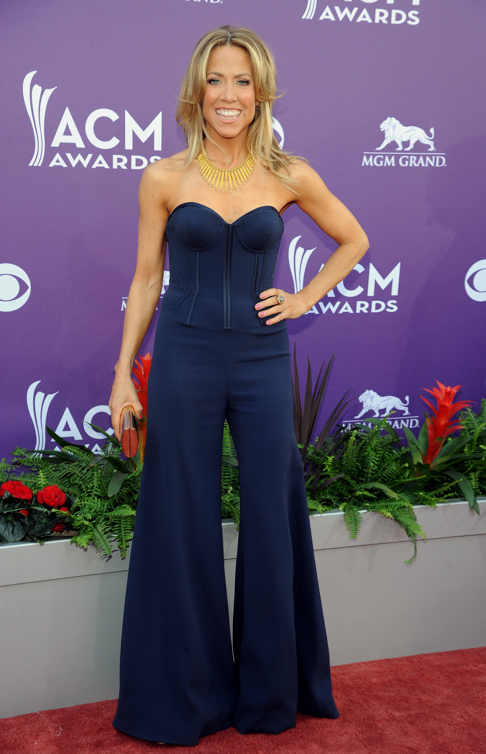 . Singer Sheryl Crow arrives at the 48th Annual Academy of Country Music Awards at the MGM Grand Garden Arena in Las Vegas on Sunday, April 7, 2013. (Photo by Al Powers/Invision/AP)