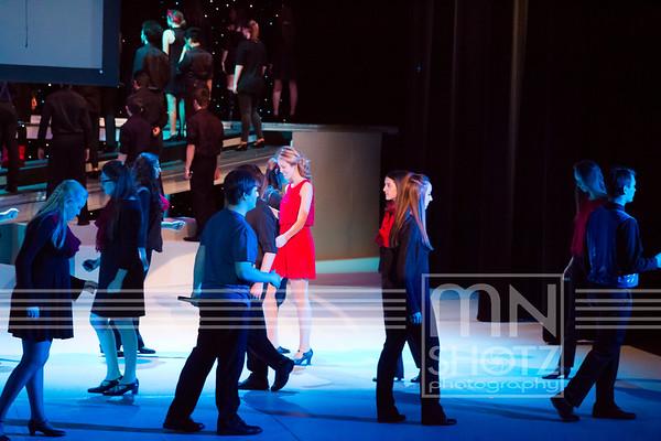 Opener - NY, NY; I love LA; Manhattan, California Girls; on Broadway; Big in LA; New York City Rhythm; Kids in America